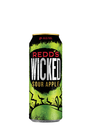 Redd's Wicked Sour Apple flavor