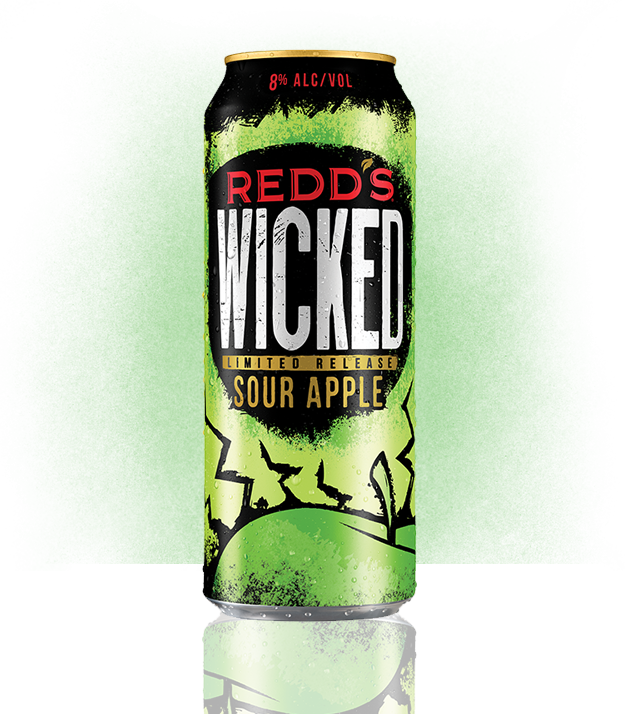REDD'S WICKED SOUR APPLE