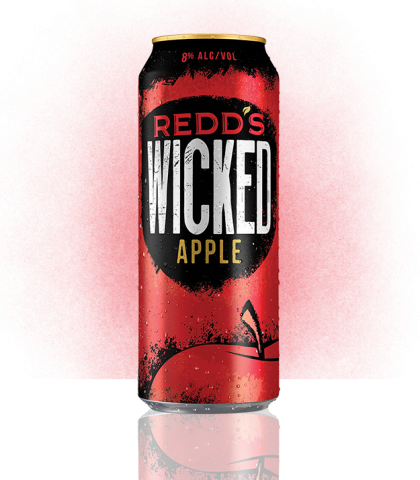 Redd's Wicked Apple flavor